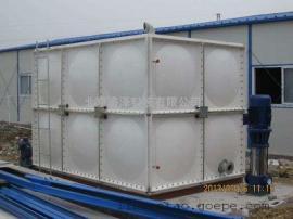 12立方米太阳能水箱60吨玻璃钢消防战备水箱