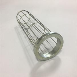 乔达环保16根筋304不锈钢除尘器布袋袋笼 316L除尘器骨架制作