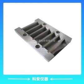 全钢质10*10*60六联试模 耐酸碱试模
