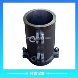 弹性模量试模φ50*100圆模 电通量试模