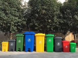 100升120升240升分类垃圾桶-街道分类垃圾桶厂