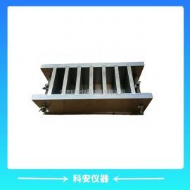70*70*20mm六联砂浆试模,钢制可拆,表面磨光