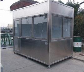 不锈钢保安岗亭