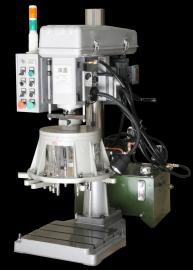 攻铝型材油压钻床深鑫GD-30进口自动钻孔倒角机