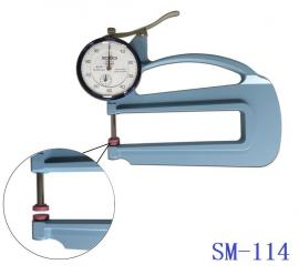 日本得��TECLOCK指�式厚度表SM-114便捷式�y厚�,手持式厚度�