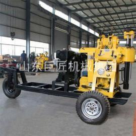 巨匠轮式液压钻机XYX-130型百米勘探岩心钻机工程地质勘探钻机