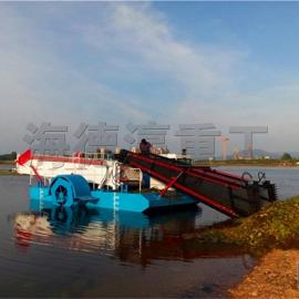 水葫芦打捞船 全自动割草船 水面清漂除草船