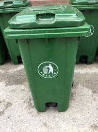 脚踩加厚垃圾桶-小区脚踩分类垃圾桶-脚踩分类果皮箱