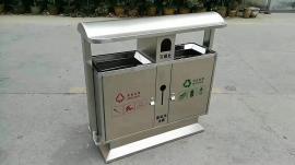 不锈钢分类垃圾箱-金属分类垃圾桶-精品垃圾桶