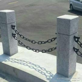 高速公路护栏铁链国家标准 鲁兴河堤石栏杆护栏链国家标准