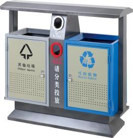 镇金属垃圾桶-塑料垃圾桶-环卫垃圾桶-公园景区分类垃圾桶江