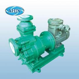 氟塑料硫酸磁力泵 氟塑料耐酸磁力泵ZCQ40-32-125