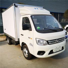 国六厢式冷藏保温运输车工厂定制销售