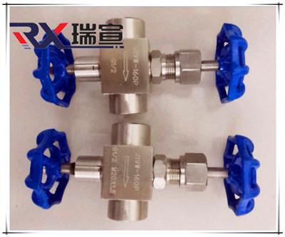 新型不锈钢钢高压针型阀型号