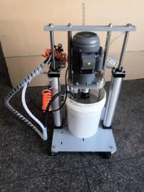 工业级双立柱大流量电动黄油定量加油机