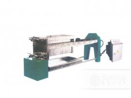 贝邦环保 630型不锈钢板框式压滤机 印染污泥压滤机