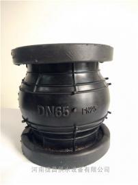 水泵安�b25公斤可曲�@橡�z接�^