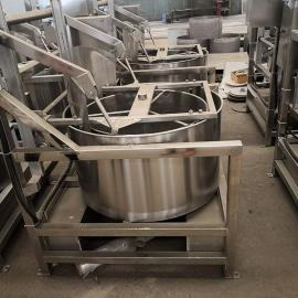 诚达600型自动出料蔬菜甩油机 加工蔬菜脱水机器