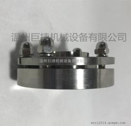不锈钢对焊法兰,对焊法兰生产 卫生级无菌法兰