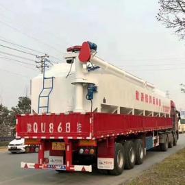 南北8吨4.3米的散装饲料料车畜牧农场专用型号
