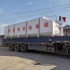南北 半�燔�定做散�b�料罐 13米平板�\���d�料罐 �C械化程度高 nb-27