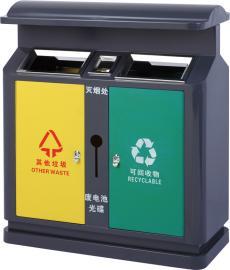 公园分类垃圾桶-不锈钢垃圾桶-金属垃圾桶-垃圾桶加工厂