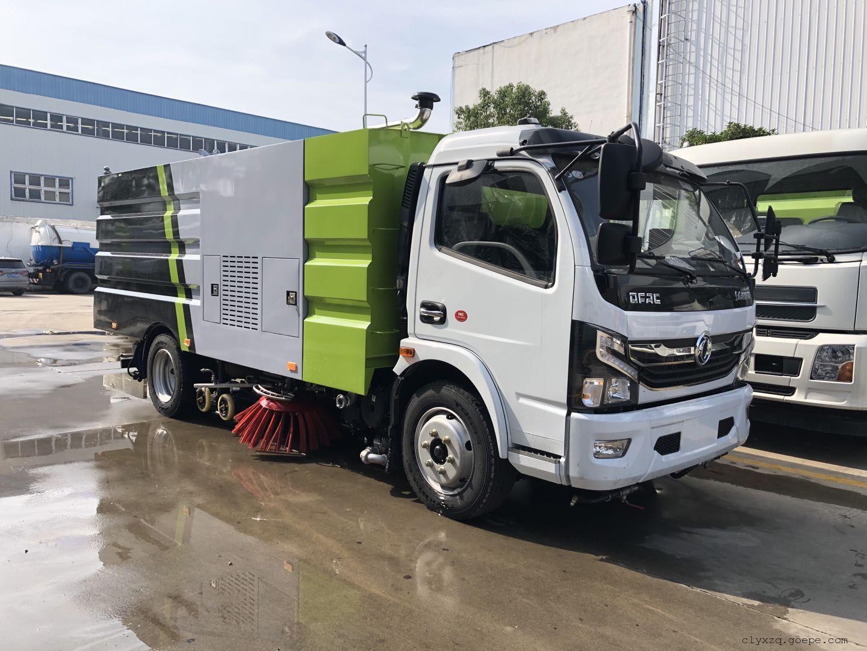天然气LNG无尘洗扫车城市道路洗扫车制造厂