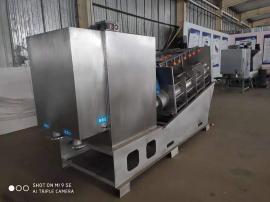 352食品厂污水处理设备污泥脱水设备叠螺式压滤机压泥机