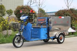 戎玖电动三轮街道循环保洁车