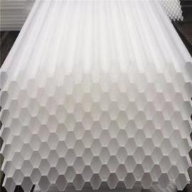 塑料斜管填料 PP蜂窝斜管填料安装示意图