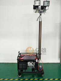 汽油发电机照明灯组,大型移动照明灯组,汽油发电机投射照明灯
