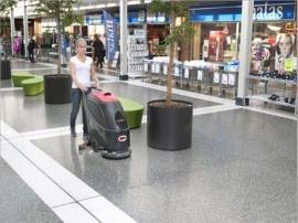 VIPER威霸AS510B全自动洗地机,手推式洗地吸干机