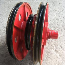 塔吊吊机滑轮组 起重提升用滑轮组 耐高压耐磨滑轮