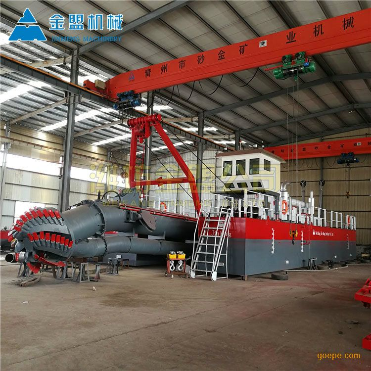 金盟 寸绞吸式挖泥船能排出500米远吗 6