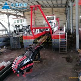 金盟 大型河道清淤设备公司出厂价 18寸清淤船定做 12寸