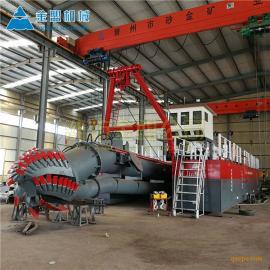 金盟 时产300方纯沙的抽沙船配置 绞吸船生产效率 12寸