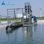 金盟 二十寸的射吸式抽沙船船体宽度有几米 20寸