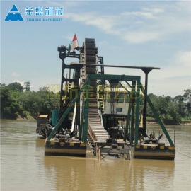 金盟 柬埔寨淘金�O�涑隹诠�司 淘金船定制出口 300