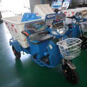 程力威电动三轮环卫保洁车500L保洁车