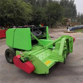 圣泰 青贮秸秆打捆机 牧草饲料粉碎打包机 9YY-0.7