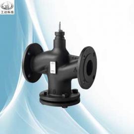 西门子电动二通蒸汽温控阀VVF53.100-150K