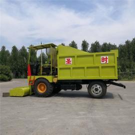 圣时SQF-4牛舍羊舍干湿粪便清粪车 节能运输铲粪车