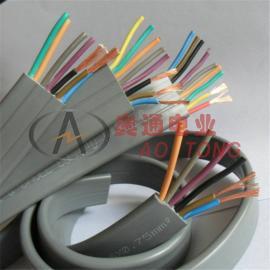 奥通 遥控折叠平移门控制线 电动伸缩门多芯线7芯0.75mm2平方 TVVB