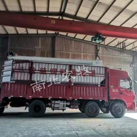 南北不锈钢饲料运输罐车 可以装各种散饲料的车型中心nb-63