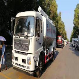 散装祠料运输车图片福田欧马可13方散装祠料运输车