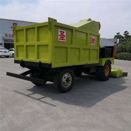 圣时 大型牛场清粪车 效率高清扫干净铲粪车 SQF-4