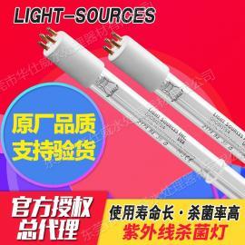 美国Light-Sources原厂紫外线杀菌灯低臭氧型石英玻璃材质消毒灯 GHO843T5L/4 87WGHO843T5L/4  87W
