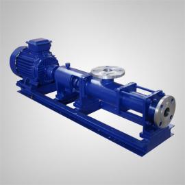 佰腾 型污泥单螺杆泵 不锈钢耐腐蚀浓浆泵 压滤高浓度输送可定制调速 G