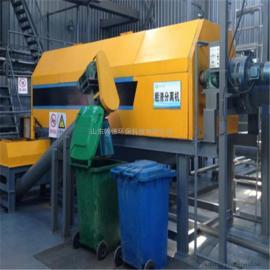 翰德 学校食堂无害化处理设备 餐厨垃圾有机肥生产线 环保制造 HDGHJ