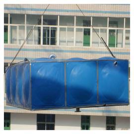 小�^消防水箱 玻璃�搪瓷水箱 ���